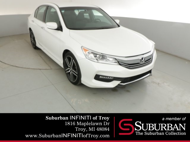 Honda Accord Sport Special Edition >> Pre Owned 2017 Honda Accord Sport Special Edition 4d Sedan In Troy