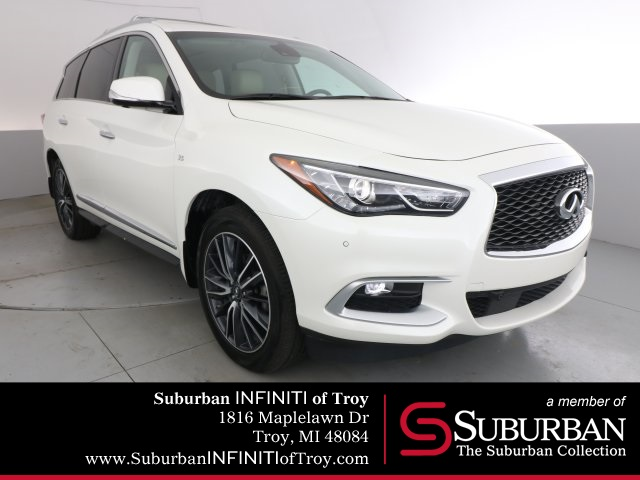 Certified Pre-Owned 2016 INFINITI QX60 Deluxe Technology/Theater Package
