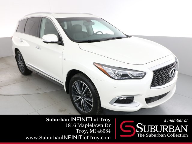 Certified Pre-Owned 2016 INFINITI QX60 Premium Plus Driver Assistance Theater and 20