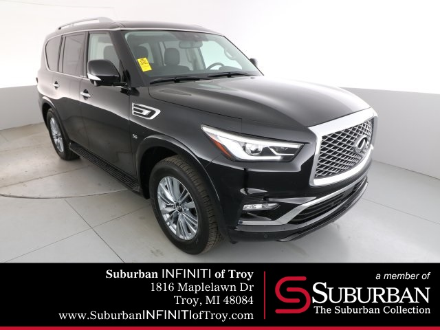 Certified Pre-Owned 2019 INFINITI QX80 LUXE Pro Assist AWD