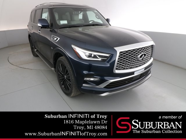 New 2019 Infiniti Qx80 Limited 4wd Suv In Troy N19345 Suburban