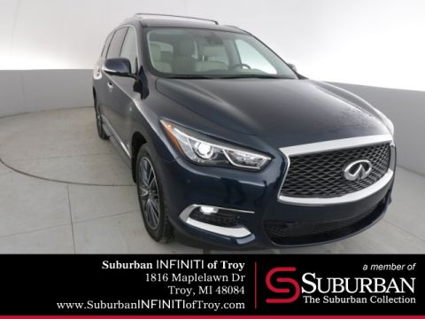 Certified Pre-Owned 2017 INFINITI QX60 Premium Plus Deluxe Technology and Theater Package