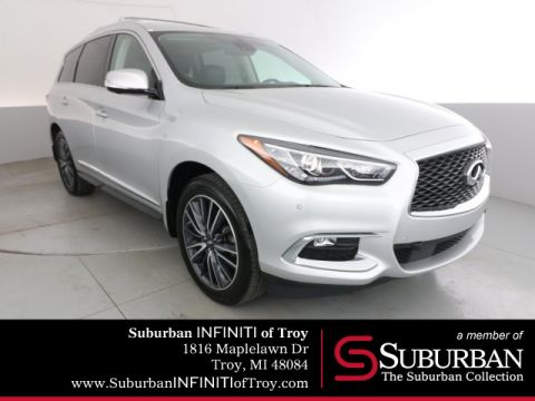 Certified Pre-Owned 2017 INFINITI QX60 Deluxe Techology/Theater Package
