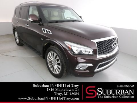 "Certified Pre-Owned 2016 INFINITI QX80 Driver Assistance 22"" Wheels"
