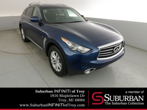 Certified Pre-Owned 2016 INFINITI QX70 with NAV